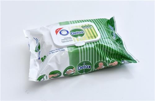 Anti Bacterial Wipes (80 Wipes per Pack)