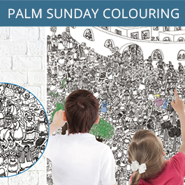 Palm Sunday Colouring