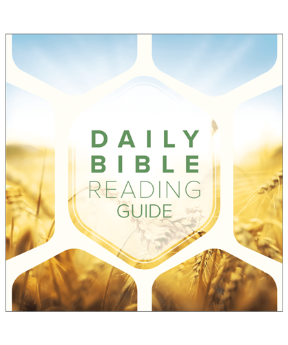 Daily Bible Reading Booklet