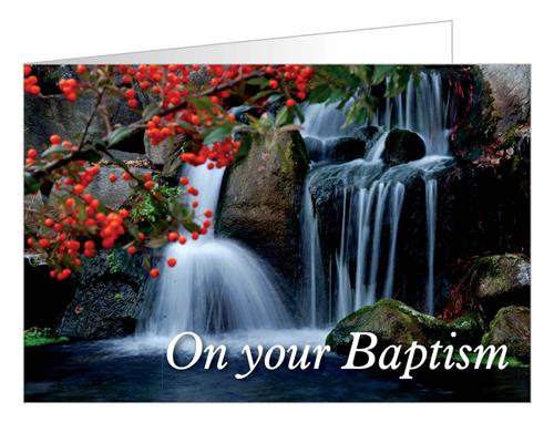 On your Baptism..