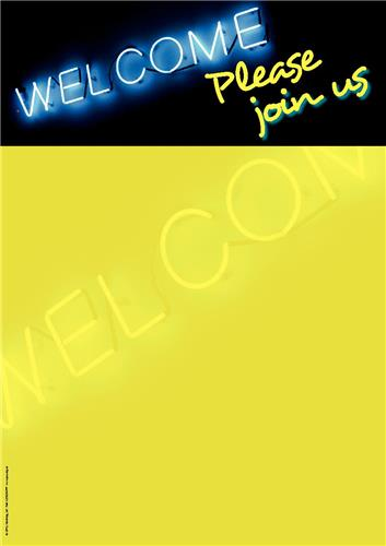 Neon Welcome