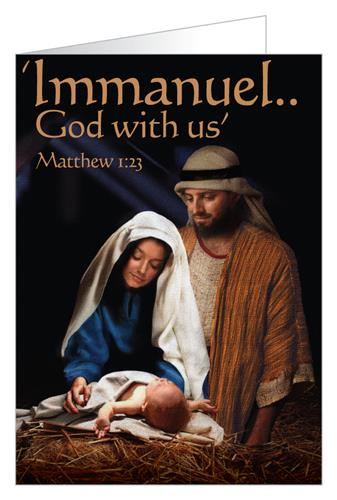Immanuel...God with us