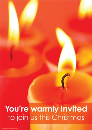 You're warmly invited