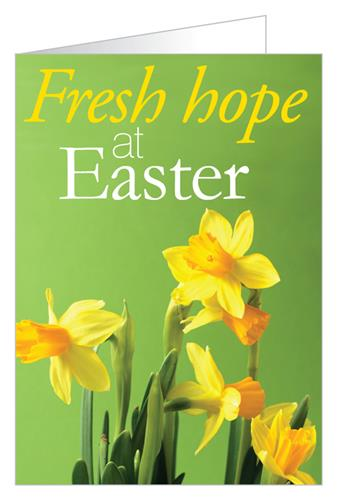 Fresh hope at Easter