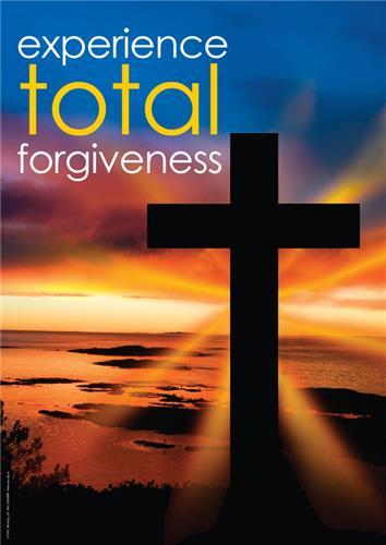 Experience total forgiveness