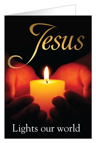 Jesus lights our world