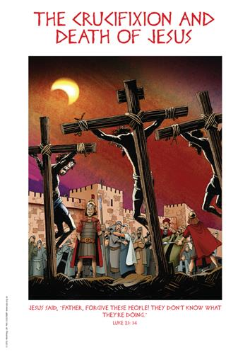 The crucifixion and death of Jesus