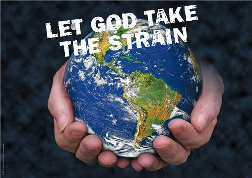 Let God take the strain