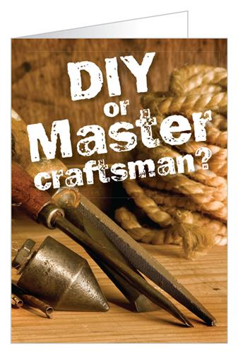 DIY or Master Craftsman? - Tract