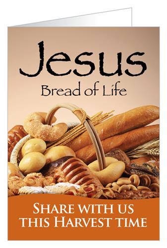 Jesus, bread of life…share with us