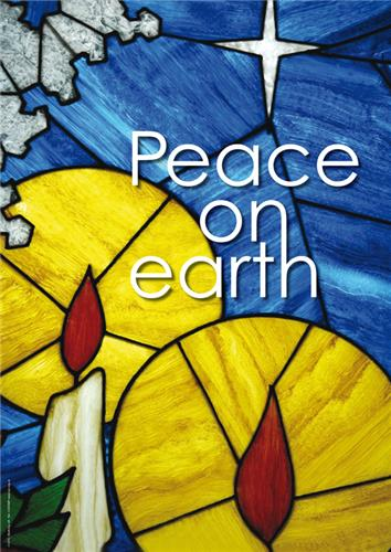 Peace on Earth (Stained Glass)