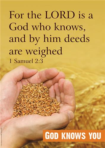 God Knows 1 Sam 2:3