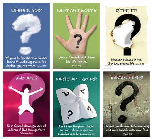 Life Questions (pk6) Poster Pack