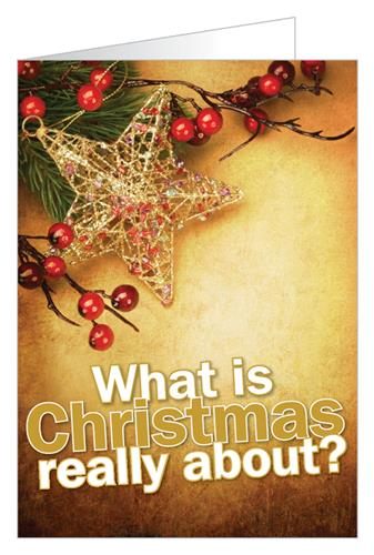 What is Christmas really about? Tract - Tract