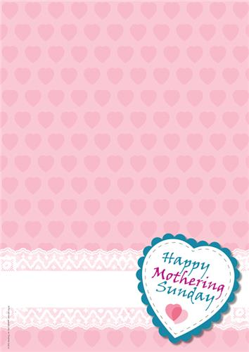 Mothering Sunday - Heart