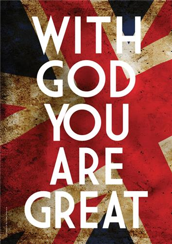 With God you are great
