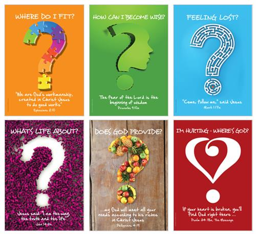Life Questions 2 (pk6) Poster Pack