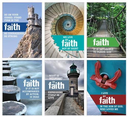 Faith 1 (pk6) Poster Pack