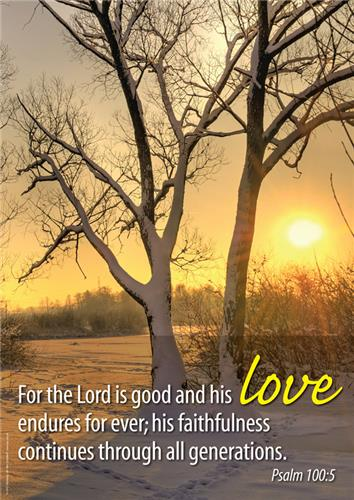 His Love (Psalm 100:5)