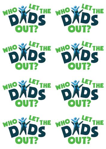 Who Let The Dads Out? - Stickers