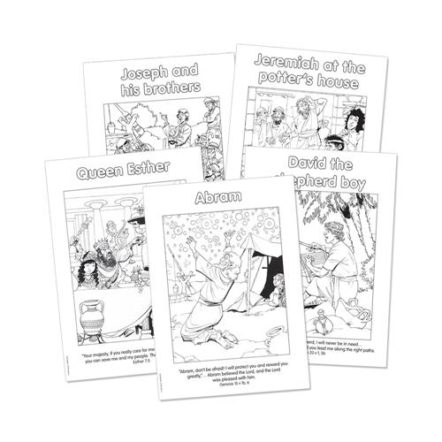OT 1 Colouring Sheets - Set of 10