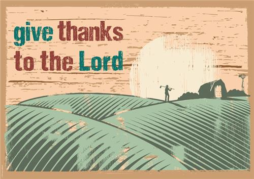 Give thanks to…