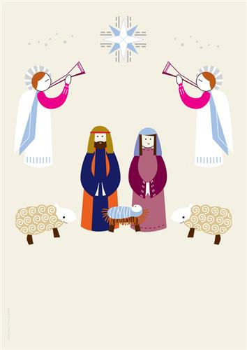 Artistic Nativity