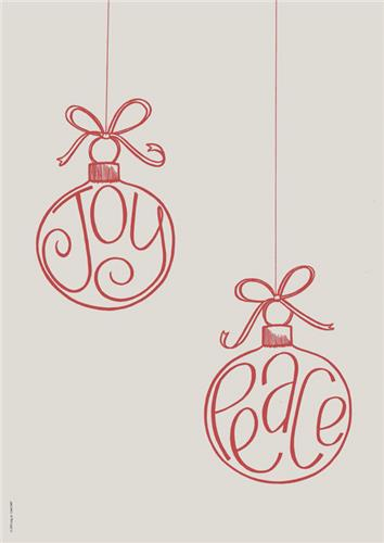 Joy Peace Baubles