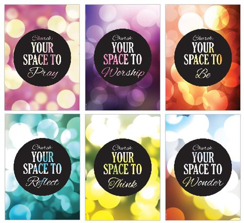 Your Space to (pk6) Poster Pack