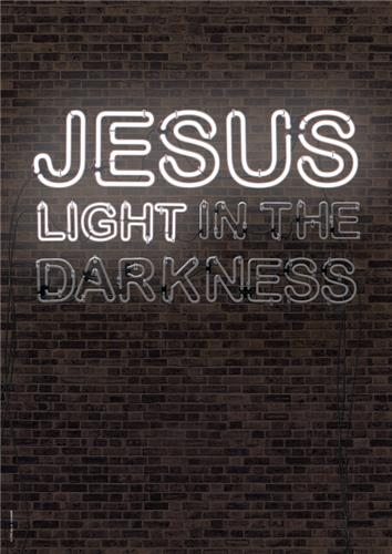 Jesus Neon Light