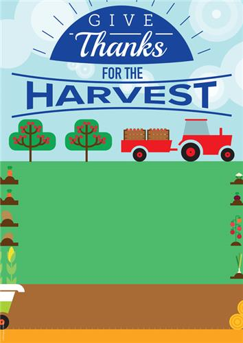Give Thanks for Harvest