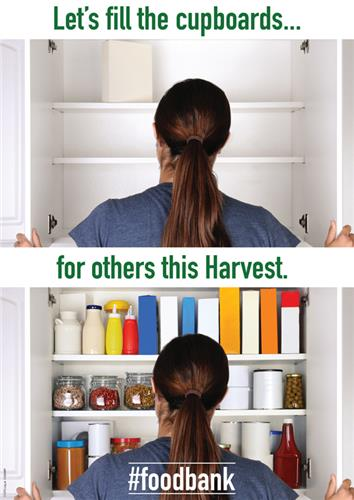 Food Bank Cupboard