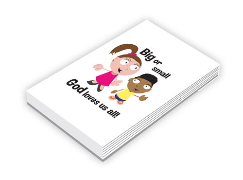 Big or Small - Notepads (pk10)