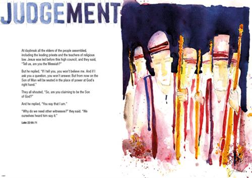 Judgement JH Message Poster