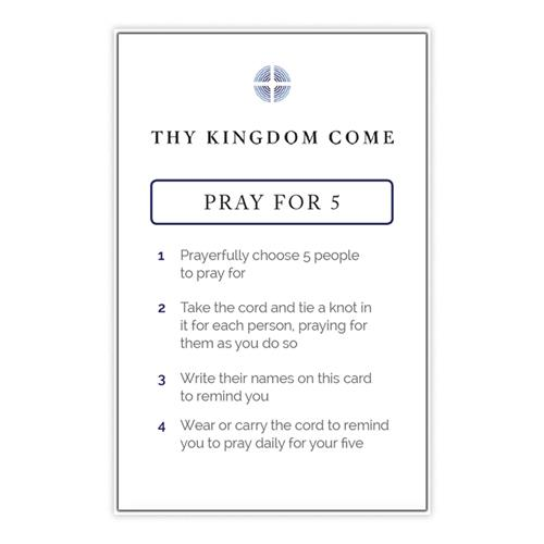 Thy Kingdom Come Pray For Five Friends