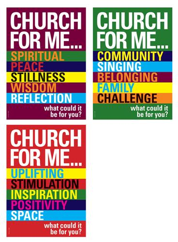 Church For Me (pk3) Poster Pack