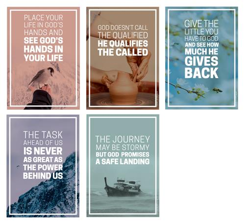 Wise Words Pictures (pk5) Poster Pack