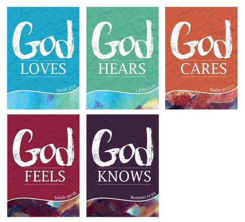 God Loves (pk5) Poster Pack