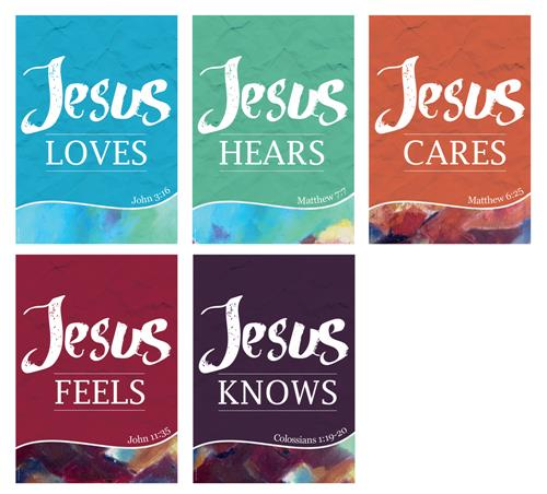 Jesus Loves (pk5) Poster Pack
