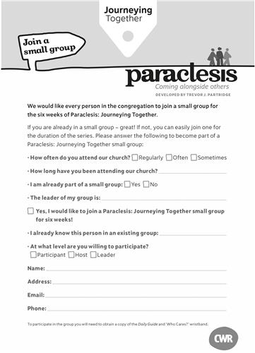 Paraclesis Connect