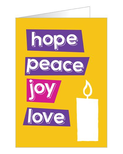 Hope Peace Joy Love