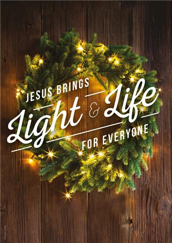 Light & Life Wreath