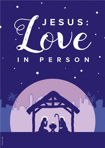 Jesus Love in Person