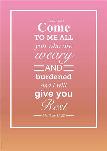 Give you Rest