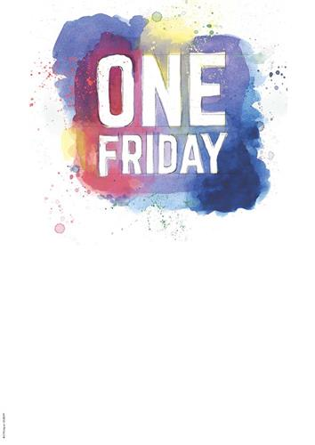 One Friday Customisable Poster