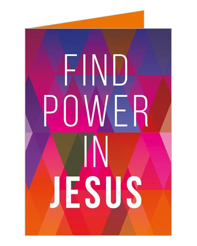 Power in Jesus