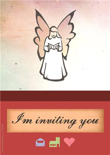 Angel Invitation