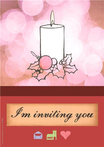 Candle Invitation