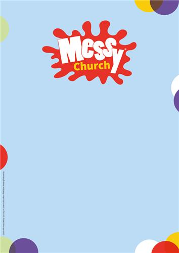 Messy Church Blue
