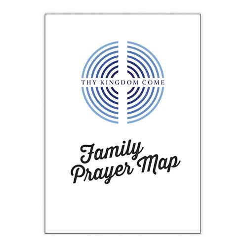 TKC Family Prayer Map Message Poster
